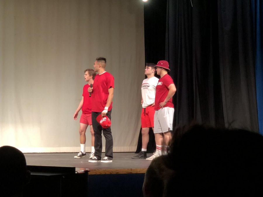 Joey Ancheta's talent.  Featuring Blake English, Aidan Fernando, and Nate Job.