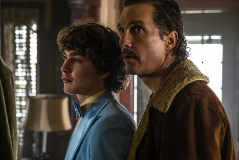 Richie Merritt (left) and Matthew McConaughey star in White Boy Rick.