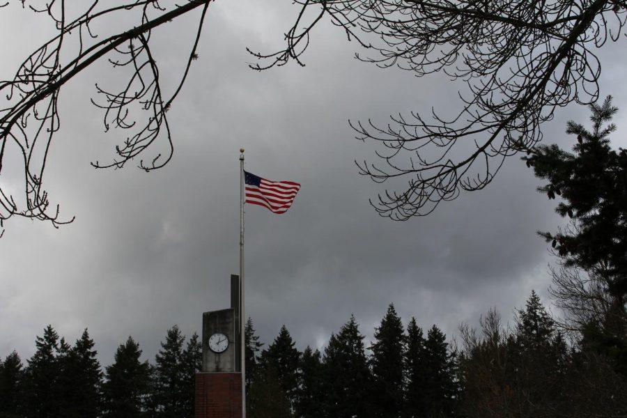 The United States flag on November 6th