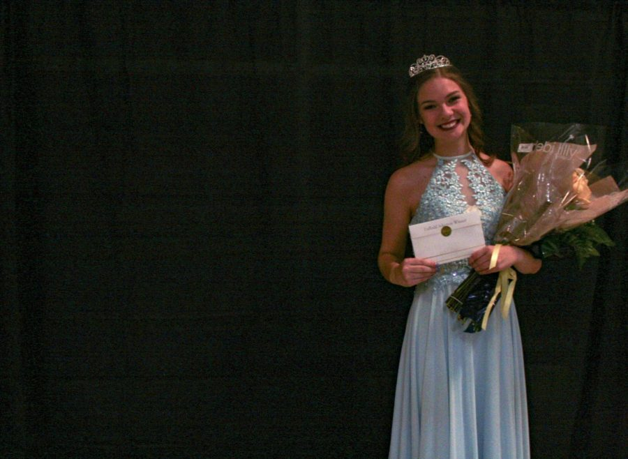 Megan Gratzer is crowned Daffodil Princess 2020